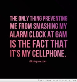 THE ONLY THING PREVENTING 