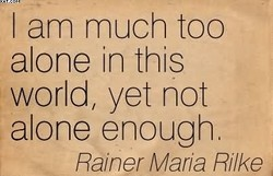 I am much too 