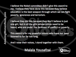 I believe the Nobel committee didn't give this award to 
