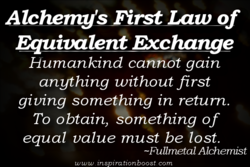 Alche 's First Law o 