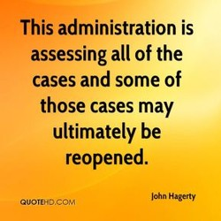 This administration is 