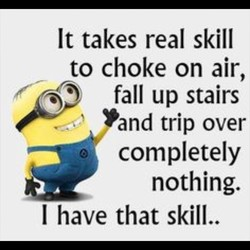 It takes real skill 