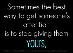 Sometimes the best 