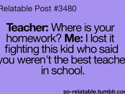 Relatable Post #3480 