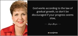 God works according to the law of 