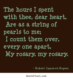 The hours I spent 