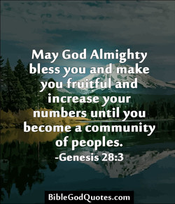 May God Almighty 