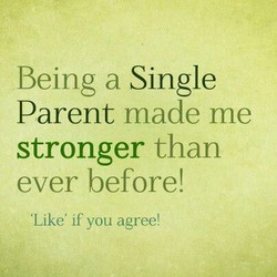 Being a Single 