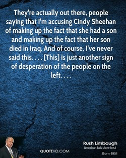 They're actually out there, people 