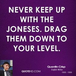 NEVER KEEP UP 