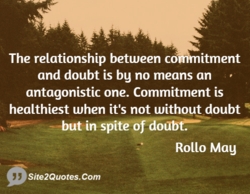 The relationship between co itment 