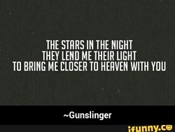 THE STRRS IN THE NIGHT 