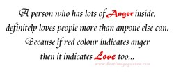 person who has lots of anger inside, 