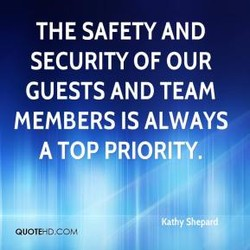 THE SAFETY AND 