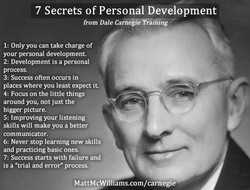 7 Secrets of Personal Development