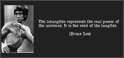 The intangible represents the real power of 