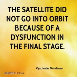 THE SATELLITE DID 