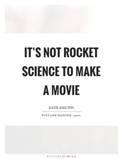 IT'S NOT ROCKET 