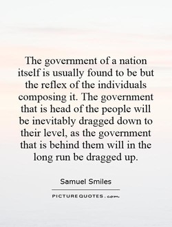 The government of a nation 