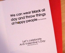 We can wear black all 