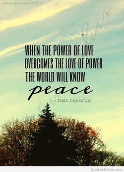WHEN POWER LOVE 