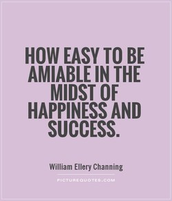 HOW EASY TO BE 