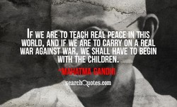IF WE TEACH RüPEACE 