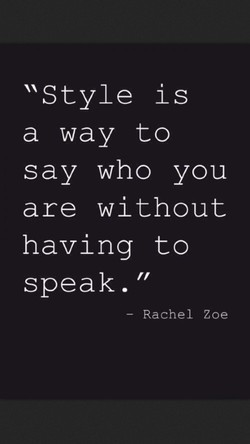 Style is 