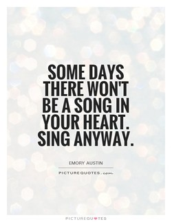 SOME DAYS 