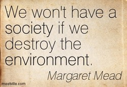 We won't have a 