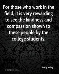 For those who work in the 
