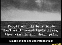 People who die by-suicide 