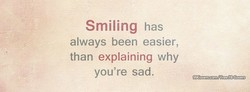 Smiling has 