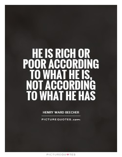 HE RICH OR 