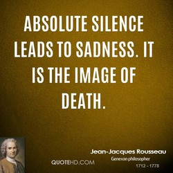 ABSOLUTE SILENCE 