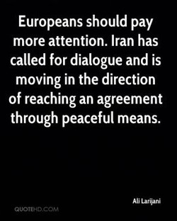 Europeans should pay 