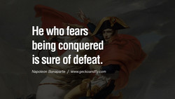 He who fears 