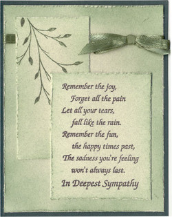 Remember the joy, 