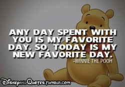 ANY DAY SPENT WITH 