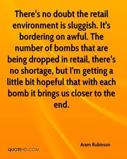 There's no doubt the retail 