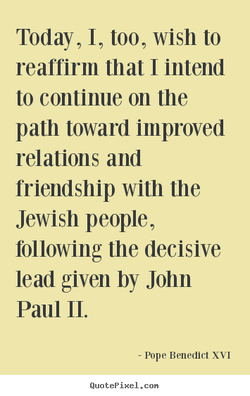 Today, I, too, wish to 