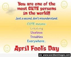 You are one of the 