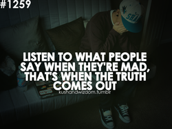 LISTEN TO WHAT PEOPLE 