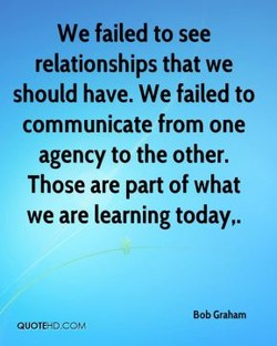 We failed to see 