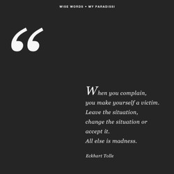 WISE WORDS 