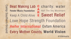9 Beat Making Lab c charity: water 