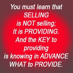 You must learn that 
