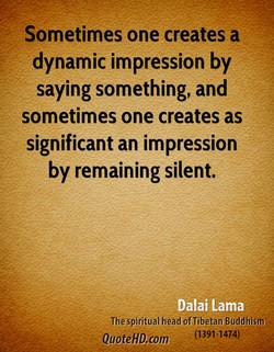 Sometimes one creates a 