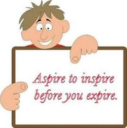 Aspire to inspire 