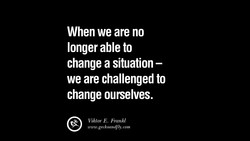 When we are no 